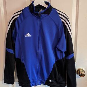 Adidas Blue and Black Track Jacket